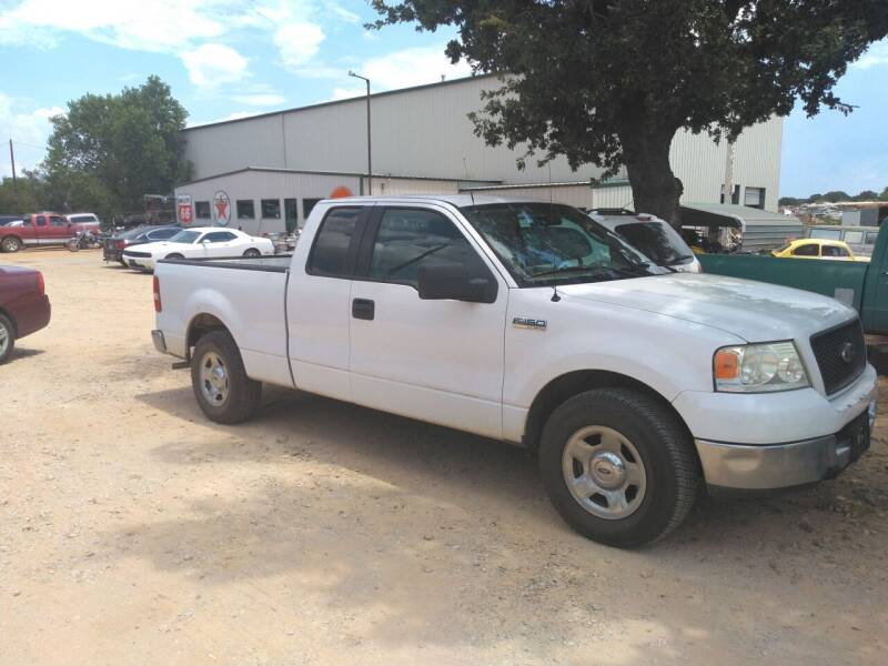 2005 Ford F-150 for sale at KK Motors Inc in Graham TX