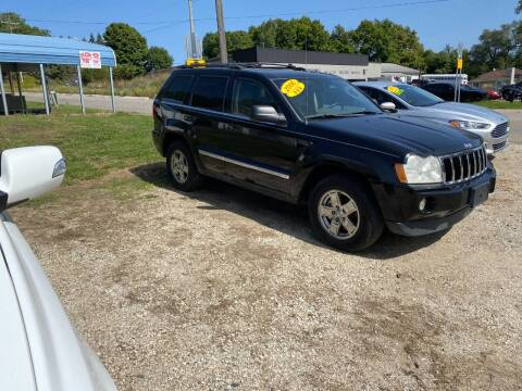 2006 Jeep Grand Cherokee for sale at Hillside Motor Sales in Coldwater MI