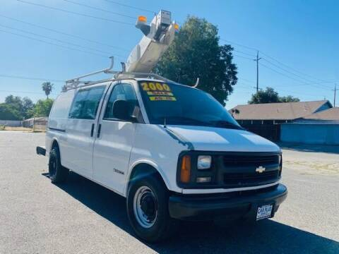 2000 Chevrolet Express Cargo for sale at My Car Plus Center Inc in Modesto CA