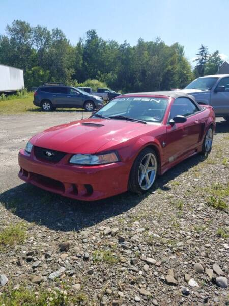 1999 Ford Mustang for sale at Jeff's Sales & Service in Presque Isle ME
