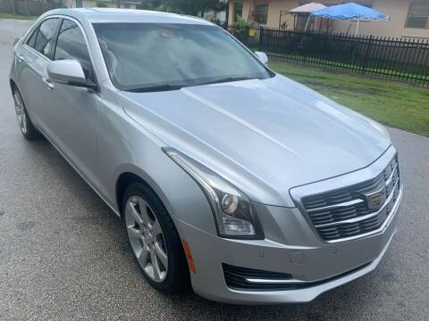 2015 Cadillac ATS for sale at Eden Cars Inc in Hollywood FL