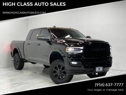 2019 RAM Ram Pickup 2500 for sale at HIGH CLASS AUTO SALES in Rancho Cordova CA