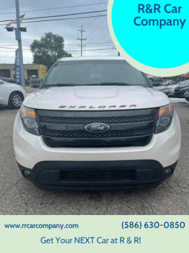2014 Ford Explorer for sale at R&R Car Company in Mount Clemens MI