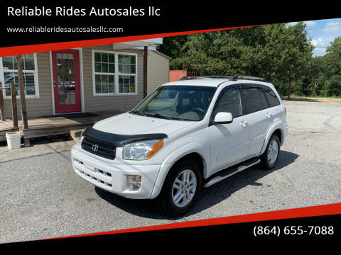 2003 Toyota RAV4 for sale at Reliable Rides Autosales llc in Greer SC