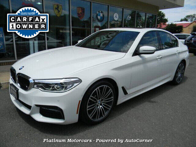 2017 BMW 5 Series for sale at Platinum Motorcars in Warrenton VA