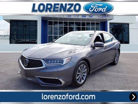 2020 Acura TLX for sale at Lorenzo Ford in Homestead FL