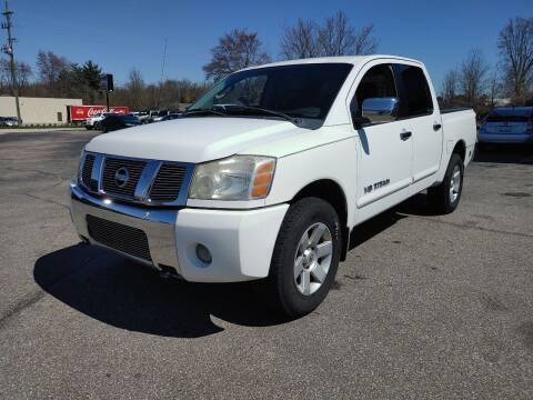 2005 Nissan Titan for sale at Cruisin' Auto Sales in Madison IN