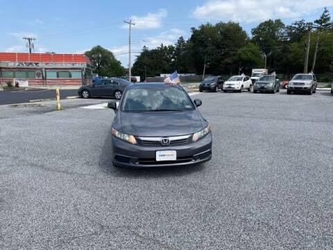 2012 Honda Civic for sale at CARMART Of Dover in Dover DE