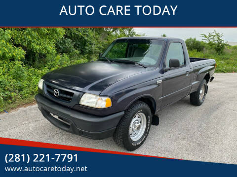2002 Mazda Truck for sale at AUTO CARE TODAY in Spring TX