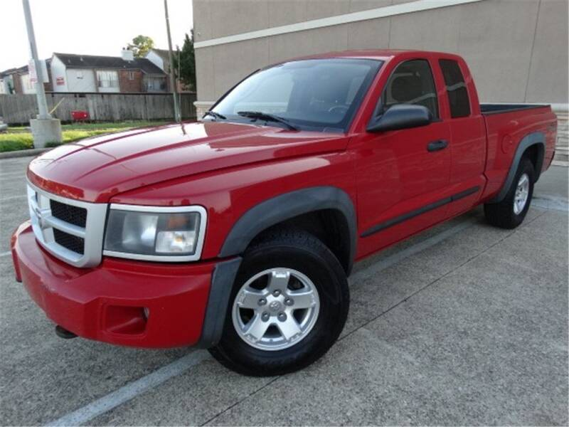 2008 Dodge Dakota for sale at Abe Motors in Houston TX