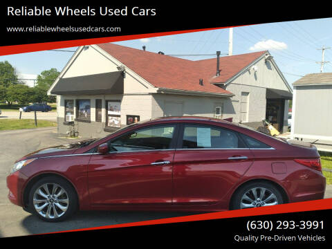 2012 Hyundai Sonata for sale at Reliable Wheels Used Cars in West Chicago IL