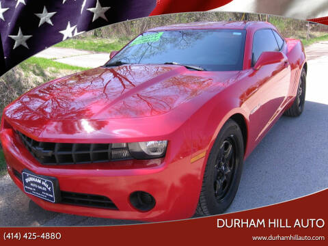 2012 Chevrolet Camaro for sale at Durham Hill Auto in Muskego WI