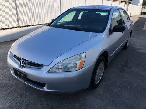 2005 Honda Accord for sale at Pinnacle Automotive Group in Roselle NJ