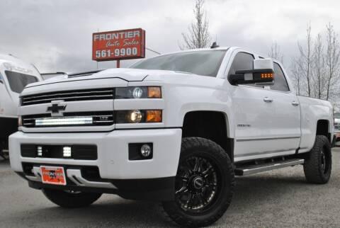 2017 Chevrolet Silverado 2500HD for sale at Frontier Auto & RV Sales in Anchorage AK