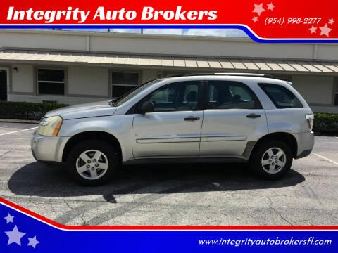 2007 Chevrolet Equinox for sale at Integrity Auto Brokers in Pompano Beach FL