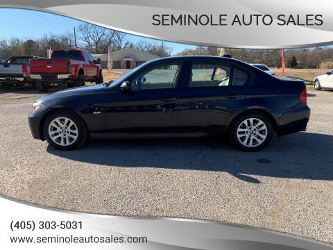 2006 BMW 3 Series for sale at Seminole Auto Sales in Seminole OK