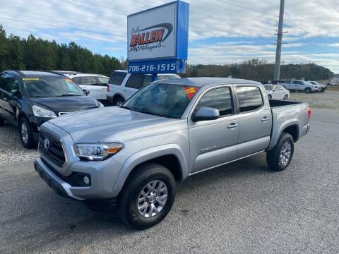 2017 Toyota Tacoma for sale at Billy Ballew Motorsports in Dawsonville GA