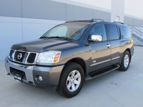 2006 Nissan Armada for sale at R & I Auto in Lake Bluff IL