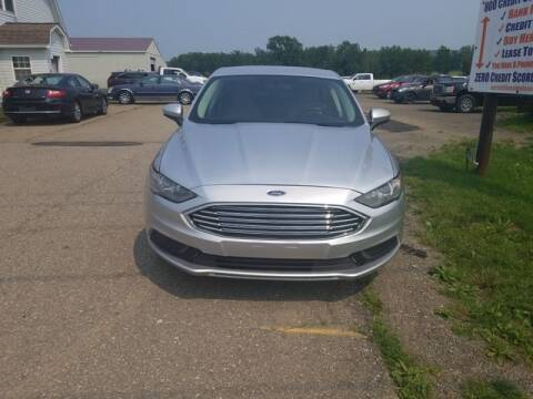 2018 Ford Fusion for sale at Sensible Sales & Leasing in Fredonia NY