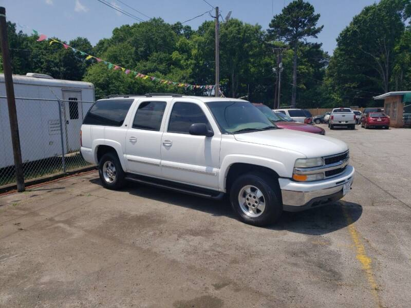 2001 Chevrolet Suburban for sale at A-1 Auto Sales in Anderson SC