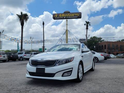 2015 Kia Optima for sale at A MOTORS SALES AND FINANCE - 5630 San Pedro Ave in San Antonio TX