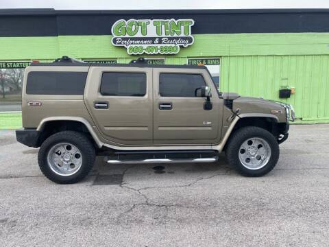 2005 HUMMER H2 for sale at GOT TINT AUTOMOTIVE SUPERSTORE in Fort Wayne IN