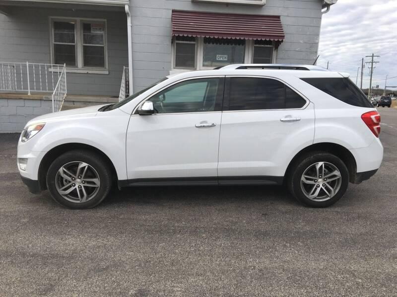 2016 Chevrolet Equinox for sale at Village Motors in Sullivan MO