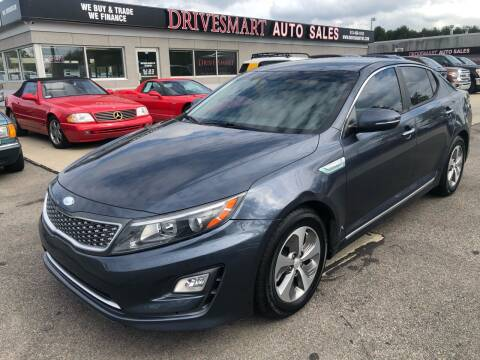 2014 Kia Optima Hybrid for sale at DriveSmart Auto Sales in West Chester OH