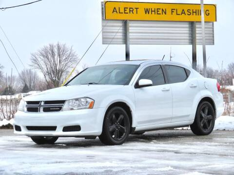 2012 Dodge Avenger for sale at Tonys Pre Owned Auto Sales in Kokomo IN