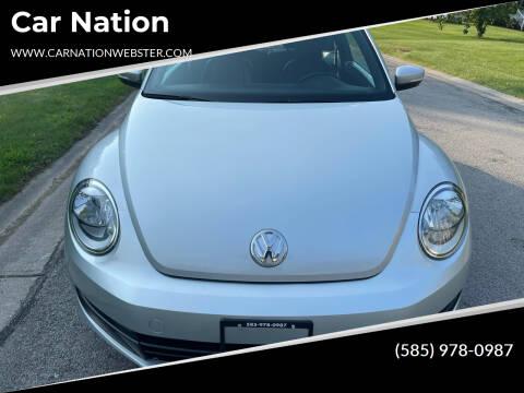 2012 Volkswagen Beetle for sale at Car Nation in Webster NY