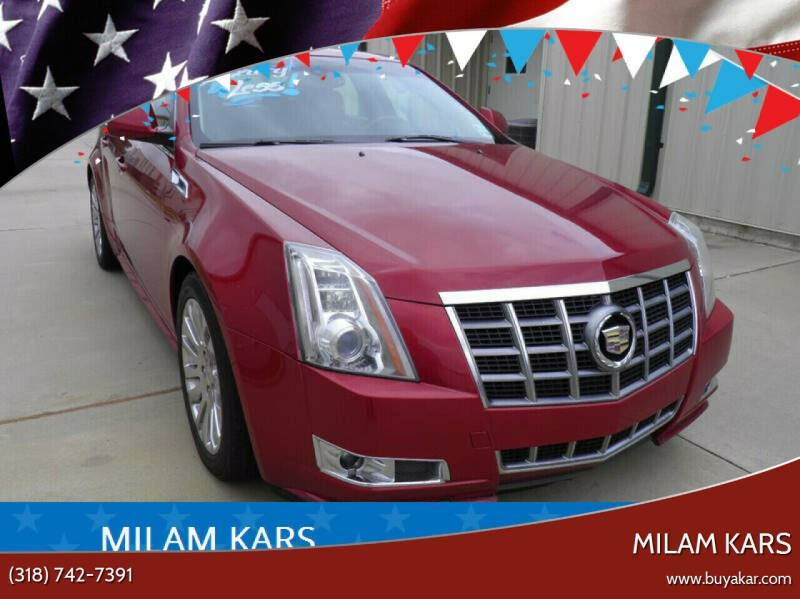 2012 Cadillac CTS for sale at MILAM KARS in Bossier City LA