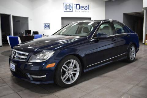 2012 Mercedes-Benz C-Class for sale at iDeal Auto Imports in Eden Prairie MN