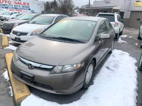2006 Honda Civic for sale at Simon's Auto Sales in Detroit MI