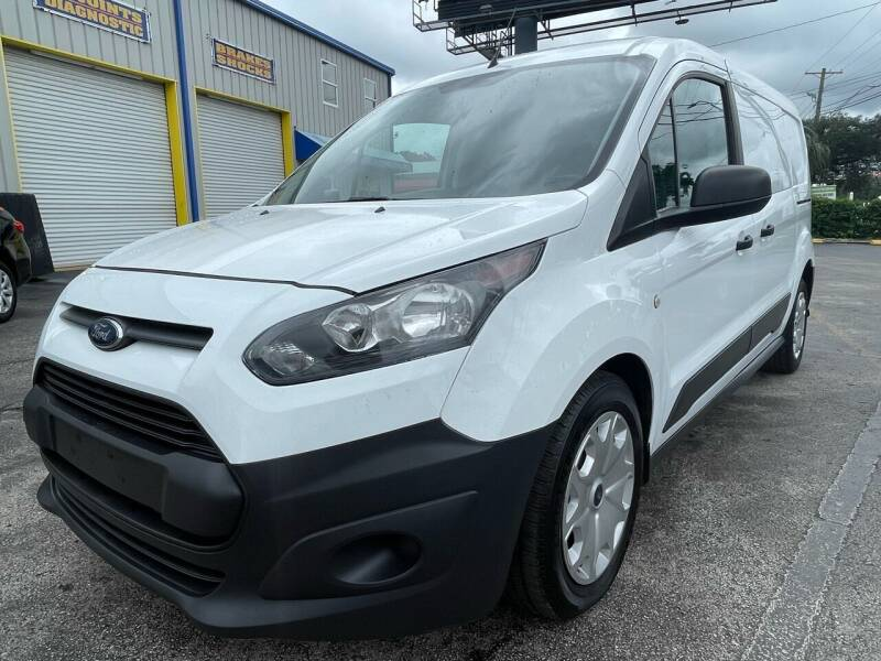 2018 Ford Transit Connect Cargo for sale at RoMicco Cars and Trucks in Tampa FL