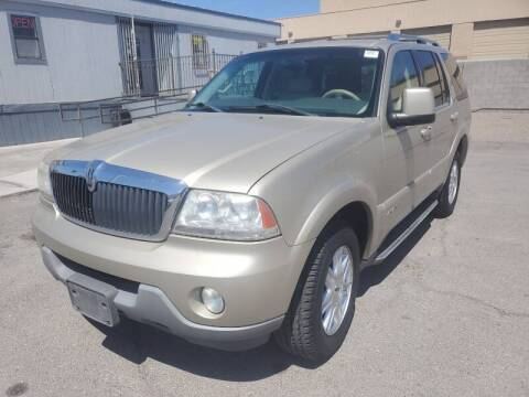 2004 Lincoln Aviator for sale at TJ Motors in Las Vegas NV