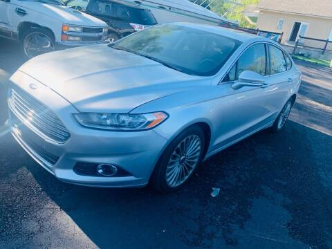 2013 Ford Fusion for sale at Capital Mo Auto Finance in Kansas City MO