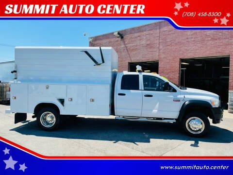 2008 Dodge Ram Chassis 5500 for sale at SUMMIT AUTO CENTER in Summit IL