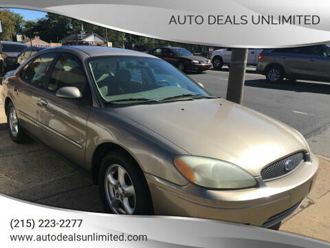 2004 Ford Taurus for sale at AUTO DEALS UNLIMITED in Philadelphia PA