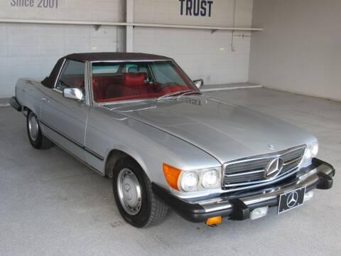 1976 Mercedes-Benz 450 SL for sale at TANQUE VERDE MOTORS in Tucson AZ