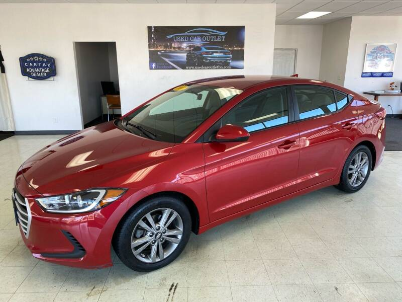 2017 Hyundai Elantra for sale at Used Car Outlet in Bloomington IL