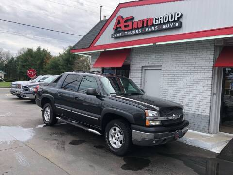 2004 Chevrolet Avalanche for sale at AG AUTOGROUP in Vineland NJ