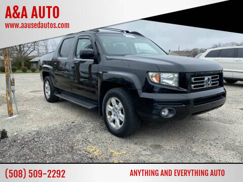 2007 Honda Ridgeline for sale at A&A AUTO in Fairhaven MA