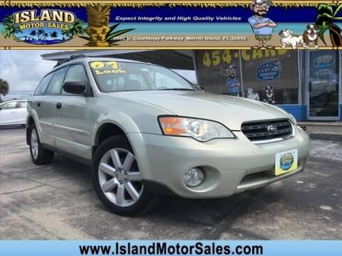 2007 Subaru Outback for sale at Island Motor Sales Inc. in Merritt Island FL