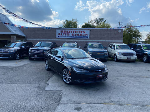 2015 Chrysler 200 for sale at Brothers Auto Group in Youngstown OH