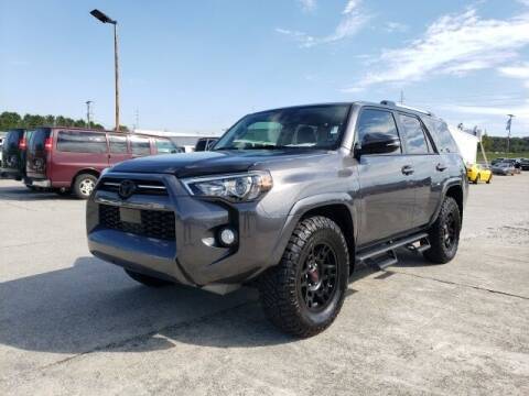 2020 Toyota 4Runner for sale at Hardy Auto Resales in Dallas GA