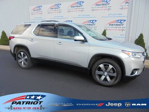 2018 Chevrolet Traverse for sale at PATRIOT CHRYSLER DODGE JEEP RAM in Oakland MD