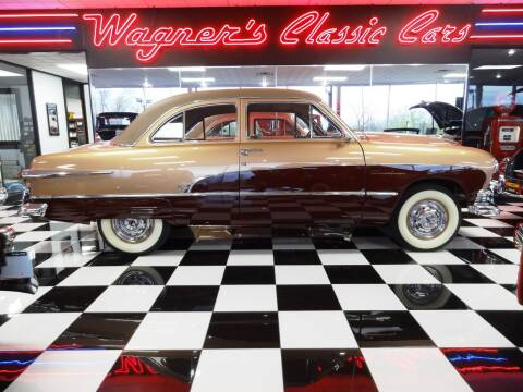 1951 Ford CUSTOM DELUXE for sale at Wagner's Classic Cars in Bonner Springs KS