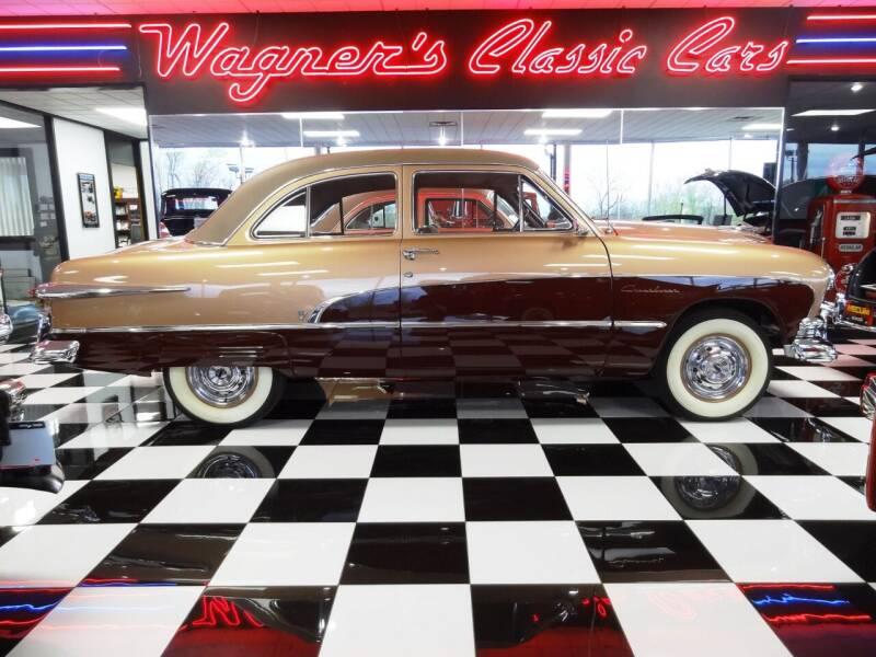 1951 Ford CUSTOM DELUXE for sale at Wagner's Classic Cars in Bonner Springs KS