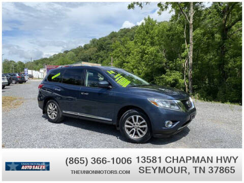 2014 Nissan Pathfinder for sale at Union Motors in Seymour TN