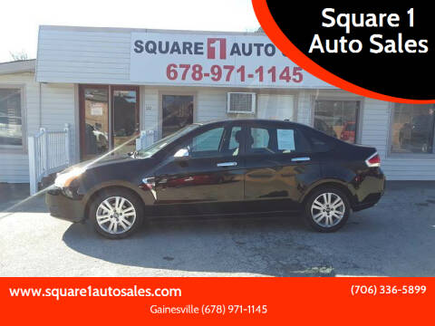 2008 Ford Focus for sale at Square 1 Auto Sales - Commerce in Commerce GA